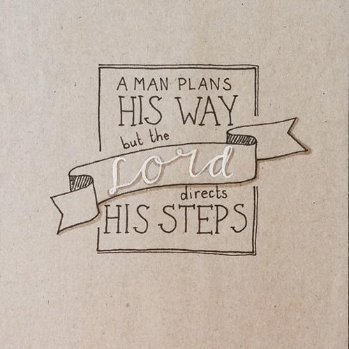 His way