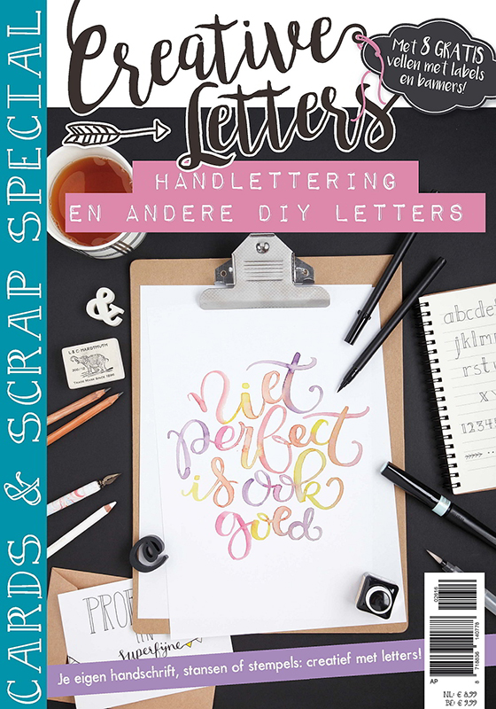 Creative Letters Cards and Scrap