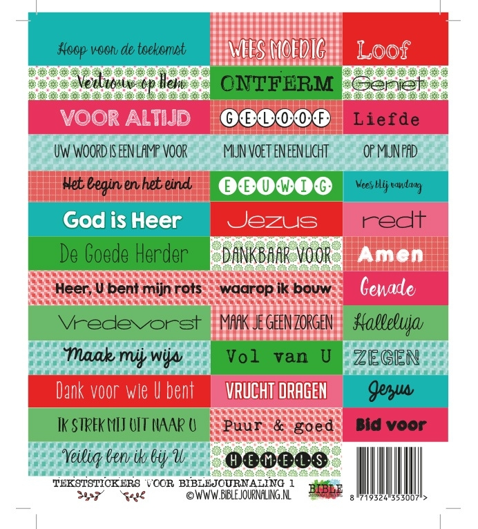 biblejournaling-stickervel