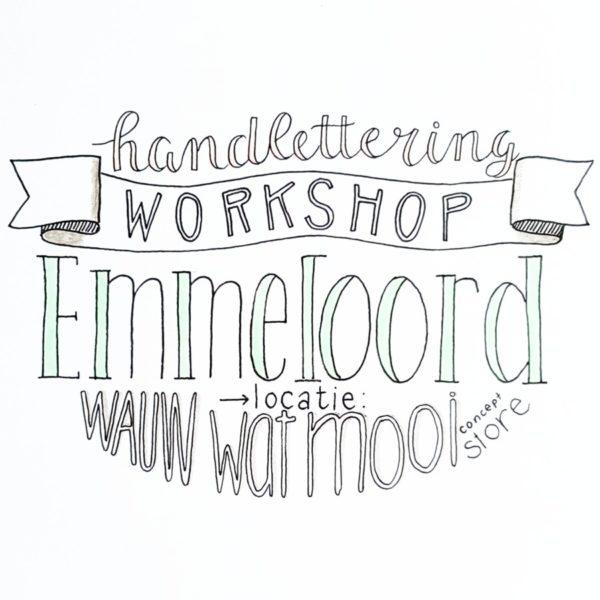 workshop handlettering emmeloord