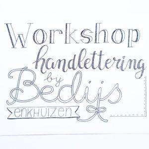 handlettering workshop enkhuizen