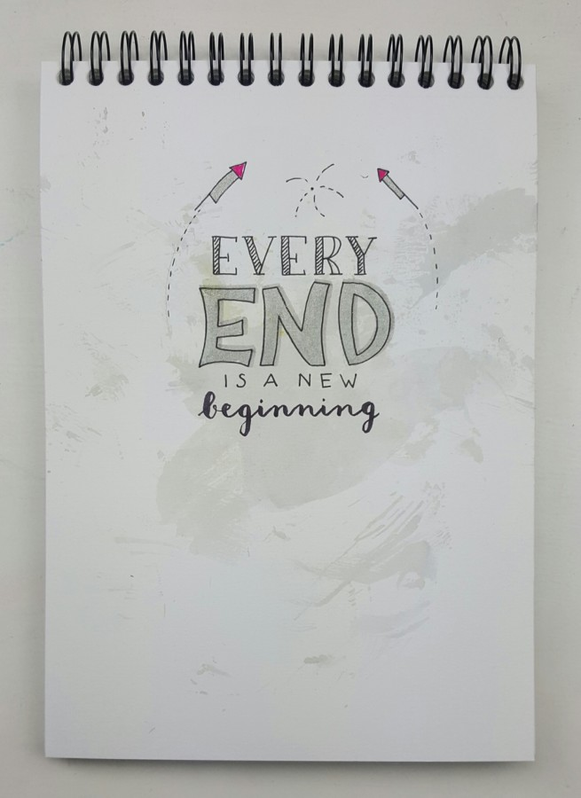 quote handlettering