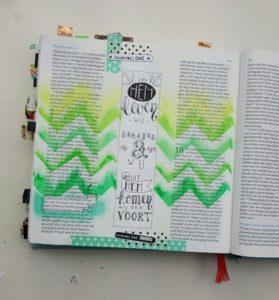 biblejournaling handelingen gelatos