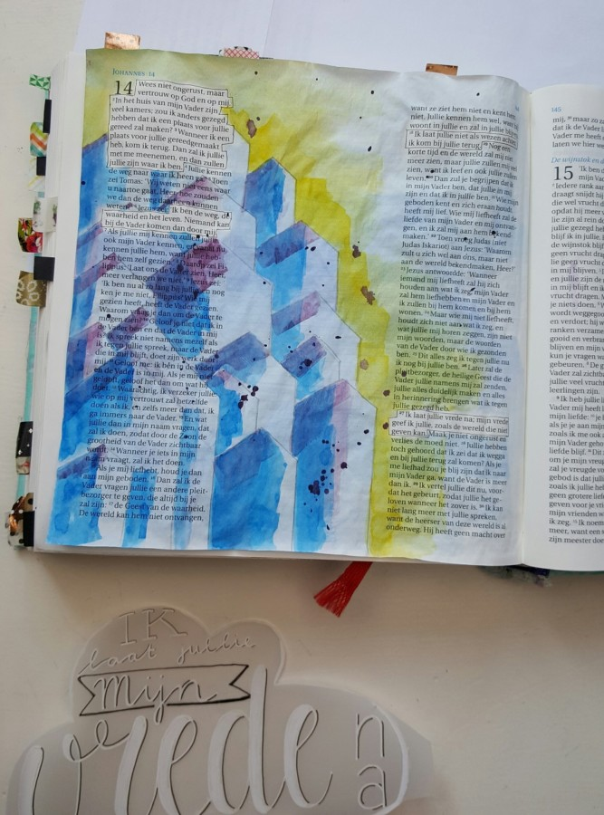 waterverf biblejournaling