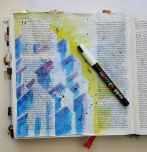 uniposca bibljournaling