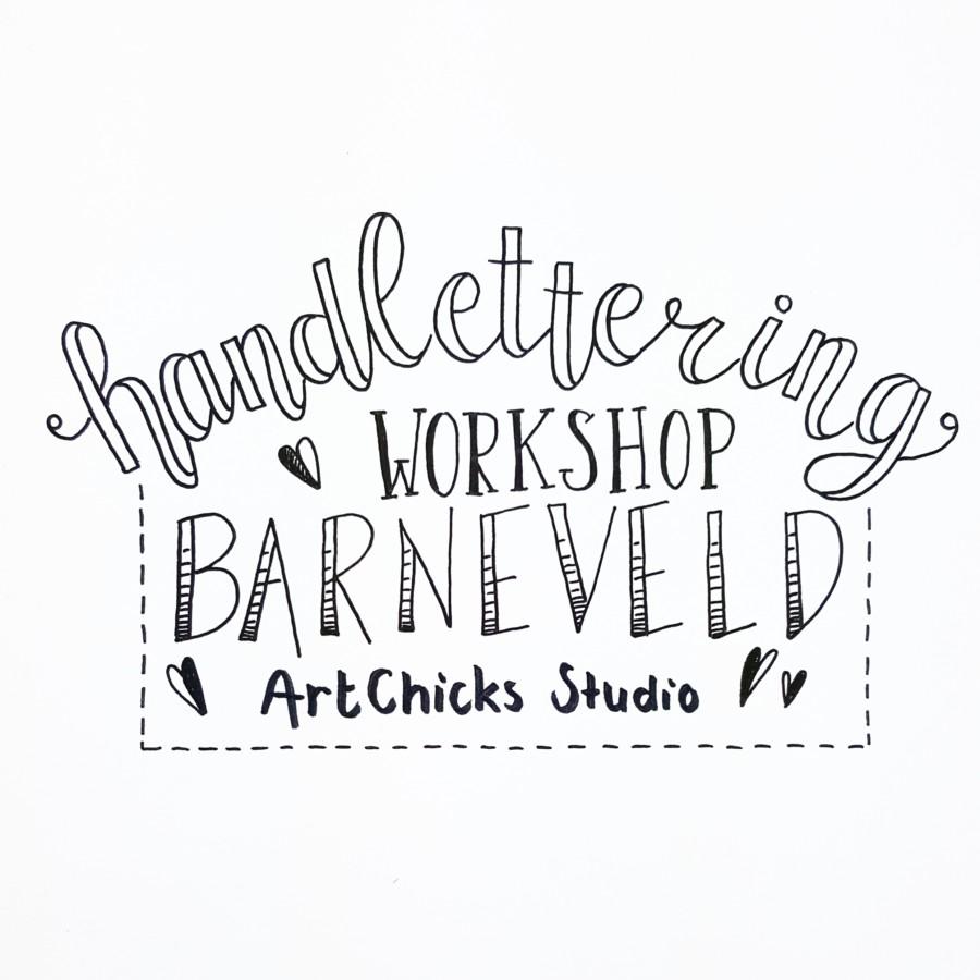 workshop handlettering barneveld
