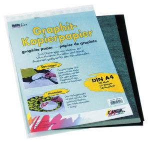 grafiet papier overtrek