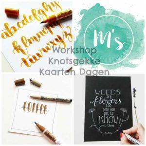 Workshop handlettering Den Bosch