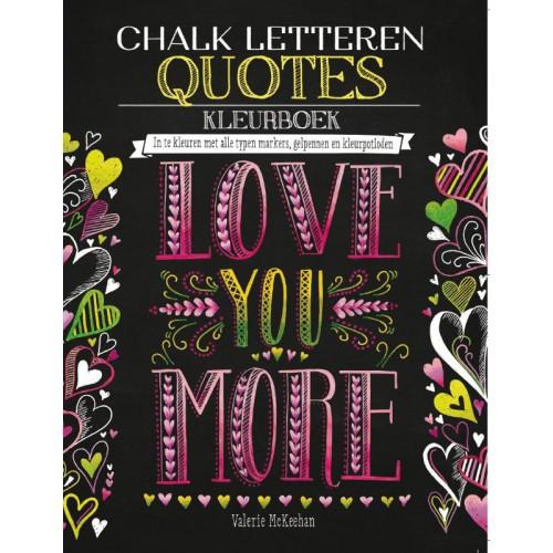chalk letteren quotes