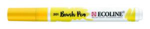 Ecoline brush pen lichtgeel