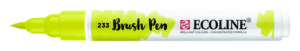 Ecoline brush pen chartreuse