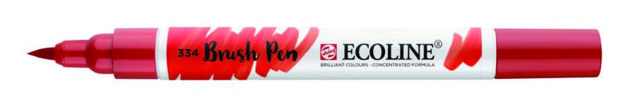 Ecoline brushpen scharlaken rood