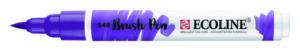 ecoline brushpen blauwviolet paars