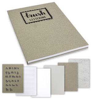 brushletter papierblok