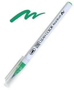 zig clean color real brush emerald green
