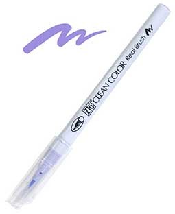 zig clean color real brush english lavender