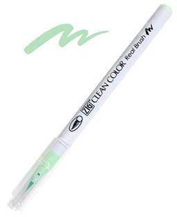 zig clean color real brush green shadow