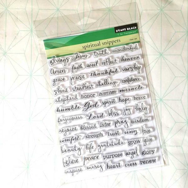 Spiritual Snippets Clearstamps