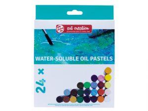 Wateroplosbare pastels Art Creation Talens 12/24/36 stuks