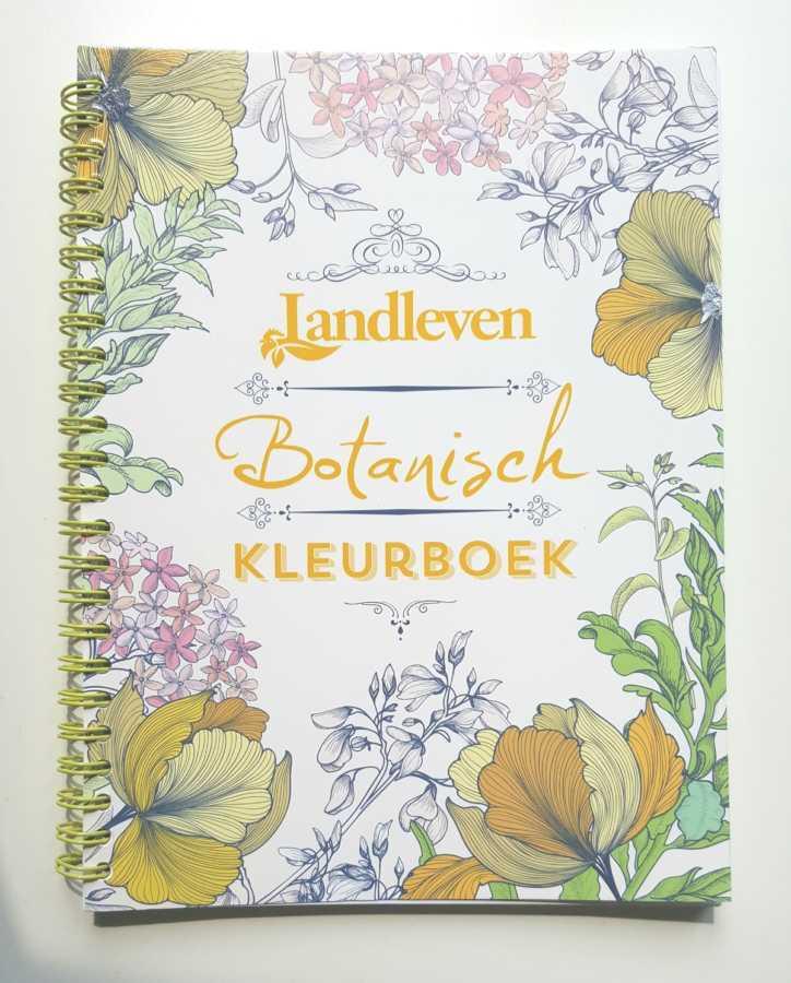 Botanisch kleurboek Landleven