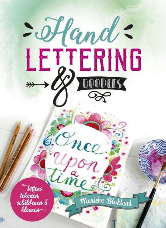 Handlettering en Doodles Marieke Blokland boek