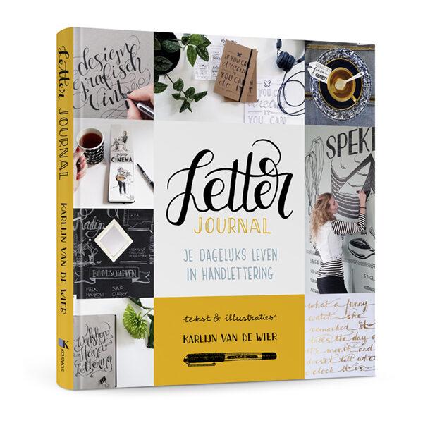 Letter journal Karlijn van de Wier boek