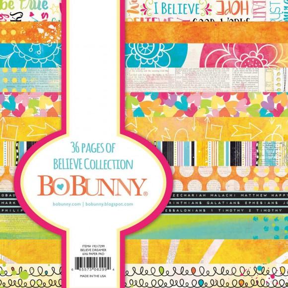 Papierblok biblejournalin Bo Bunny Believe