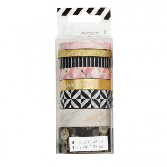 Washi tape set 8 Heidi Swapp Magnolia