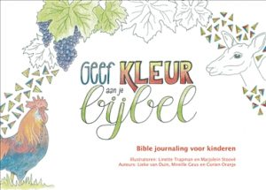 Geef kleur aan je bijbel - Bible journaling voor kinderen