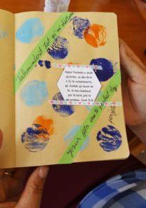 biblejournalingpagina albanie