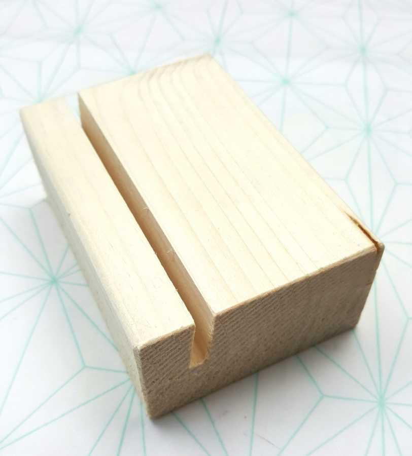 klembord houder hout