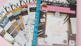 Creative Letters tijdschrift