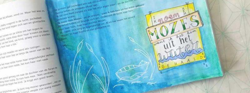 Mozes Geef kleur aan je bijbel