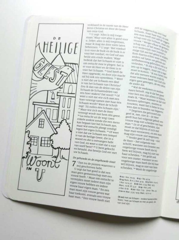werkboek biblejournaling handlettering
