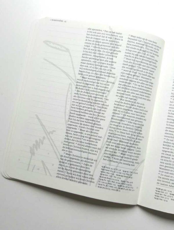 werkboek biblejournaling sjabloon