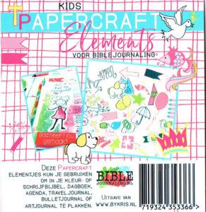 achterkant biblejournaling papercraft elements