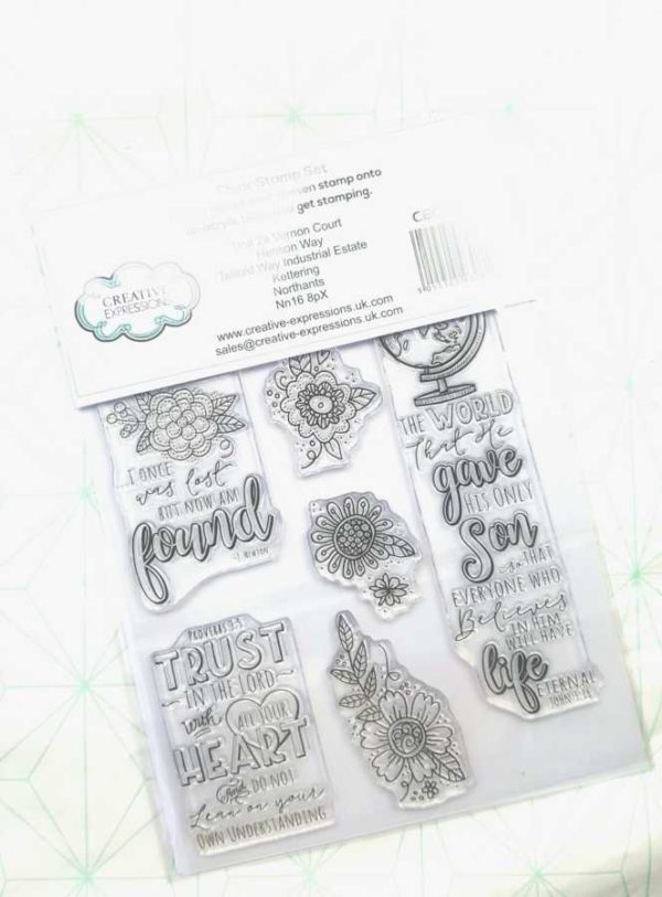 Clear stamps Creative Expressions Amazing Grace