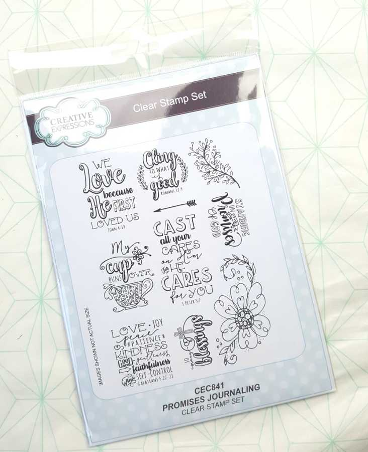 Clear stamps Creative Expressions Promises