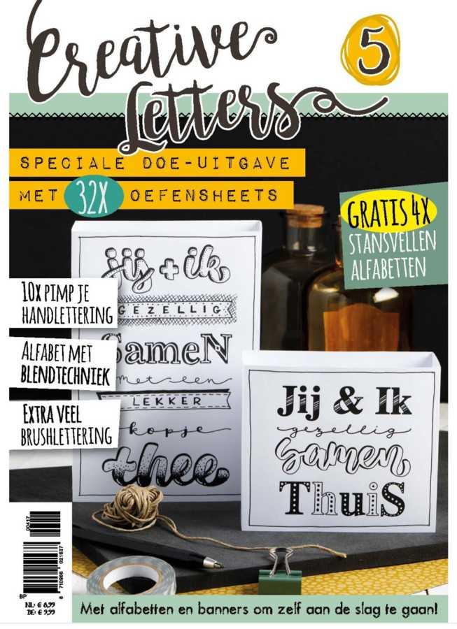 Creative Letters 5 tijdschrift