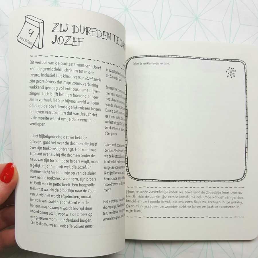 Droom biblejournaling handlettering boek binnenkant2