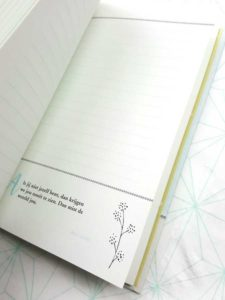 Notebook handlettering biblejournaling quote