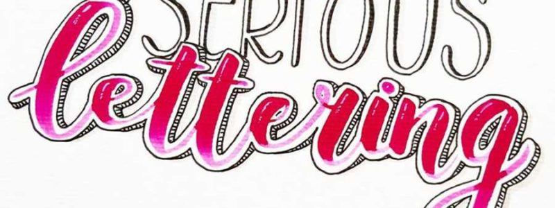 Serious lettering marjoleins creations