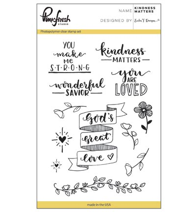 clearstamps kindness matters