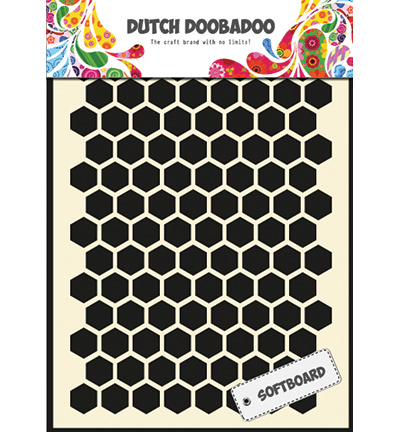 stencil honingraat honeycomb