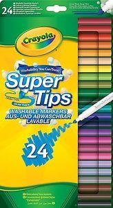 Crayola suptertips 24 stuks