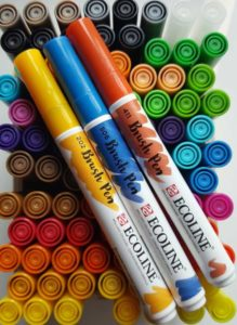 Ecoline brushpens 60 kleuren