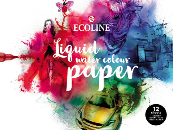 Ecoline papierblok 12 vel