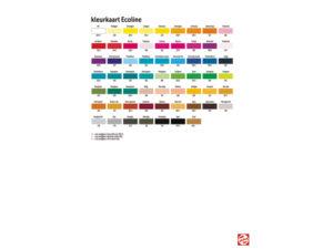 Kleuren ecoline