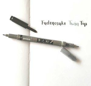 Tombow Fudenosuke Twin tip