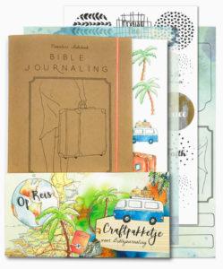 Biblejournaling craftpakketje Op reis